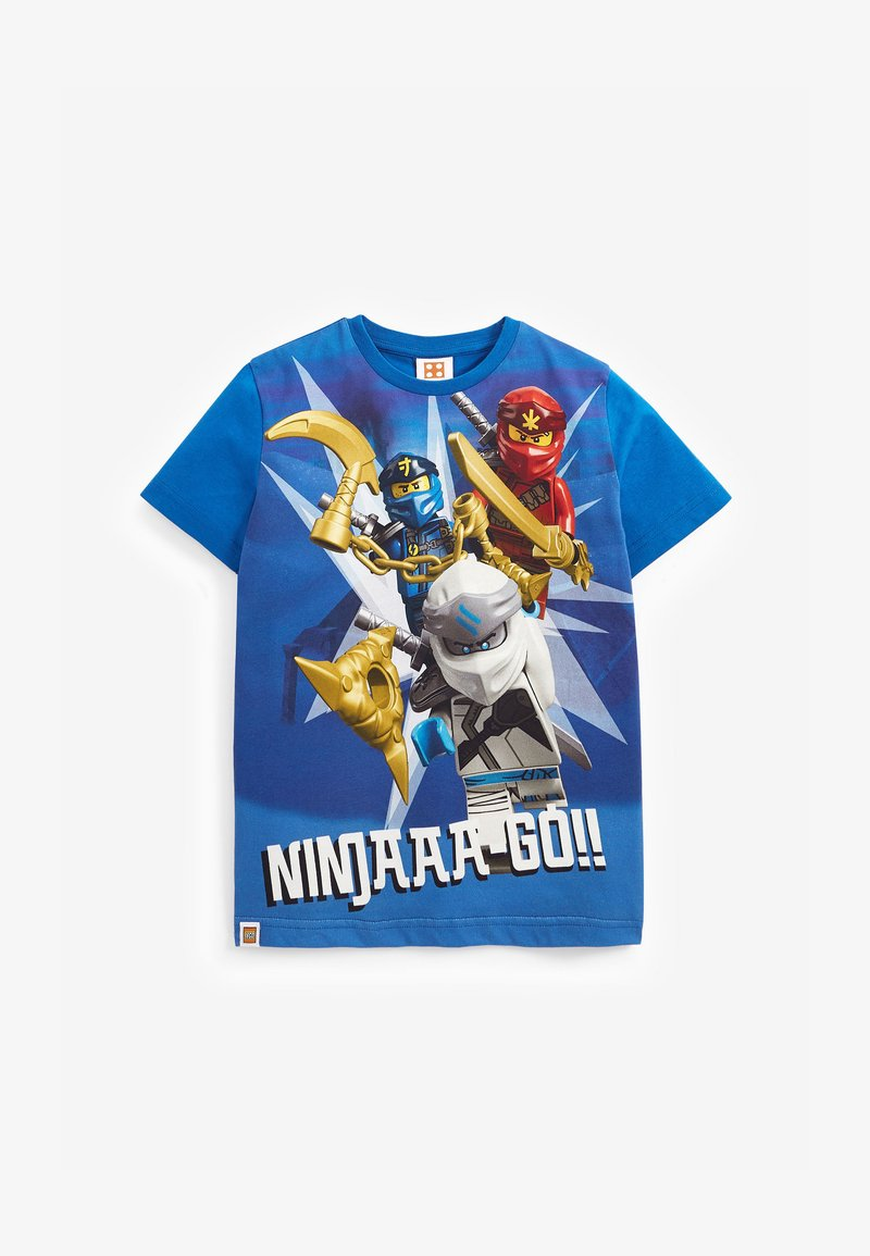 Next - LEGO NINJAGO T-SHIRT - Print T-shirt - blue