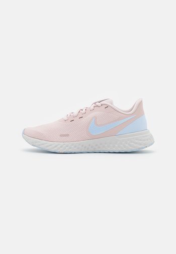 REVOLUTION 5 - Neutral running shoes - barely rose/hydrogen blue/metallic pewter/photon dust