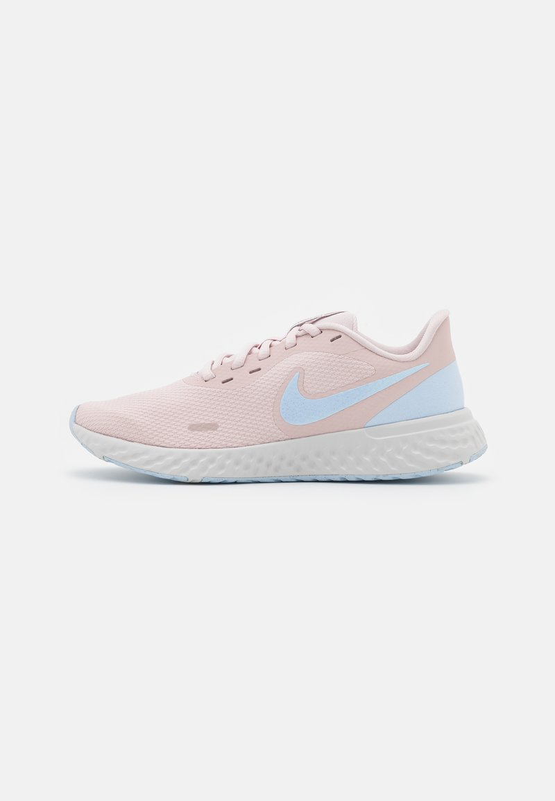 Nike Performance - REVOLUTION 5 - Neutral running shoes - barely rose/hydrogen blue/metallic pewter/photon dust