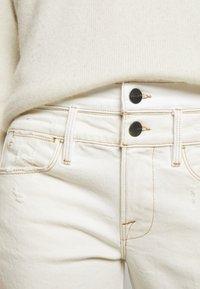 Frame Denim - LE HIGH STRAIGHT SPRING MIX - Straight leg jeans - vintage white multi - 4