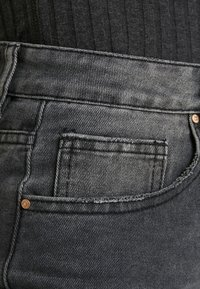 Cotton On - HIGH - Jeans Straight Leg - super wash black - 3