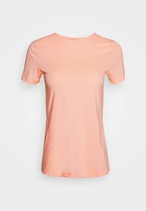 ALL OVER - Basic T-shirt - washed coral