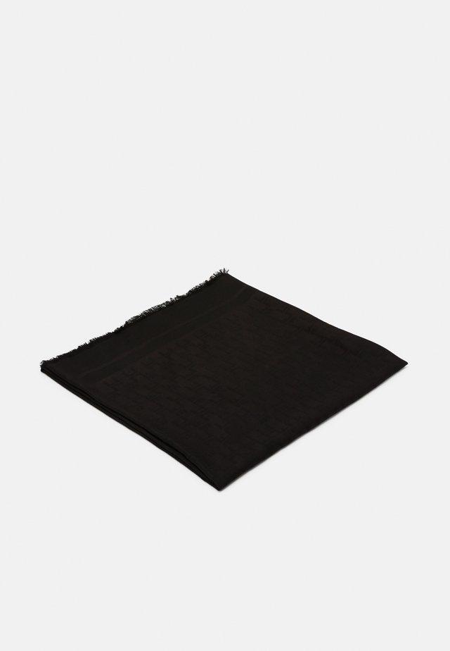 LOGO SCARF - Schal - nero