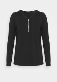 comma - Long sleeved top - black - 0