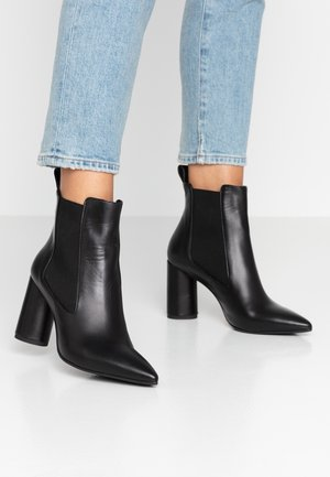 SALOME - High heeled ankle boots - nero