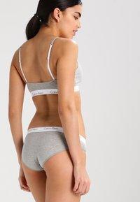 Calvin Klein Underwear - CHEEKINI - Slip - grey heather - 2