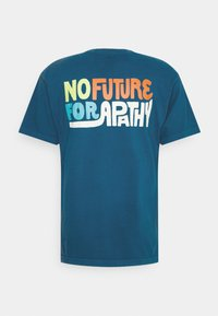 Obey Clothing - NO APATHY - Printtipaita - blue sapphire - 1