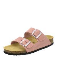 AFS Schuhe - ZWEISCHNALLER - Slippers - rosato - 2