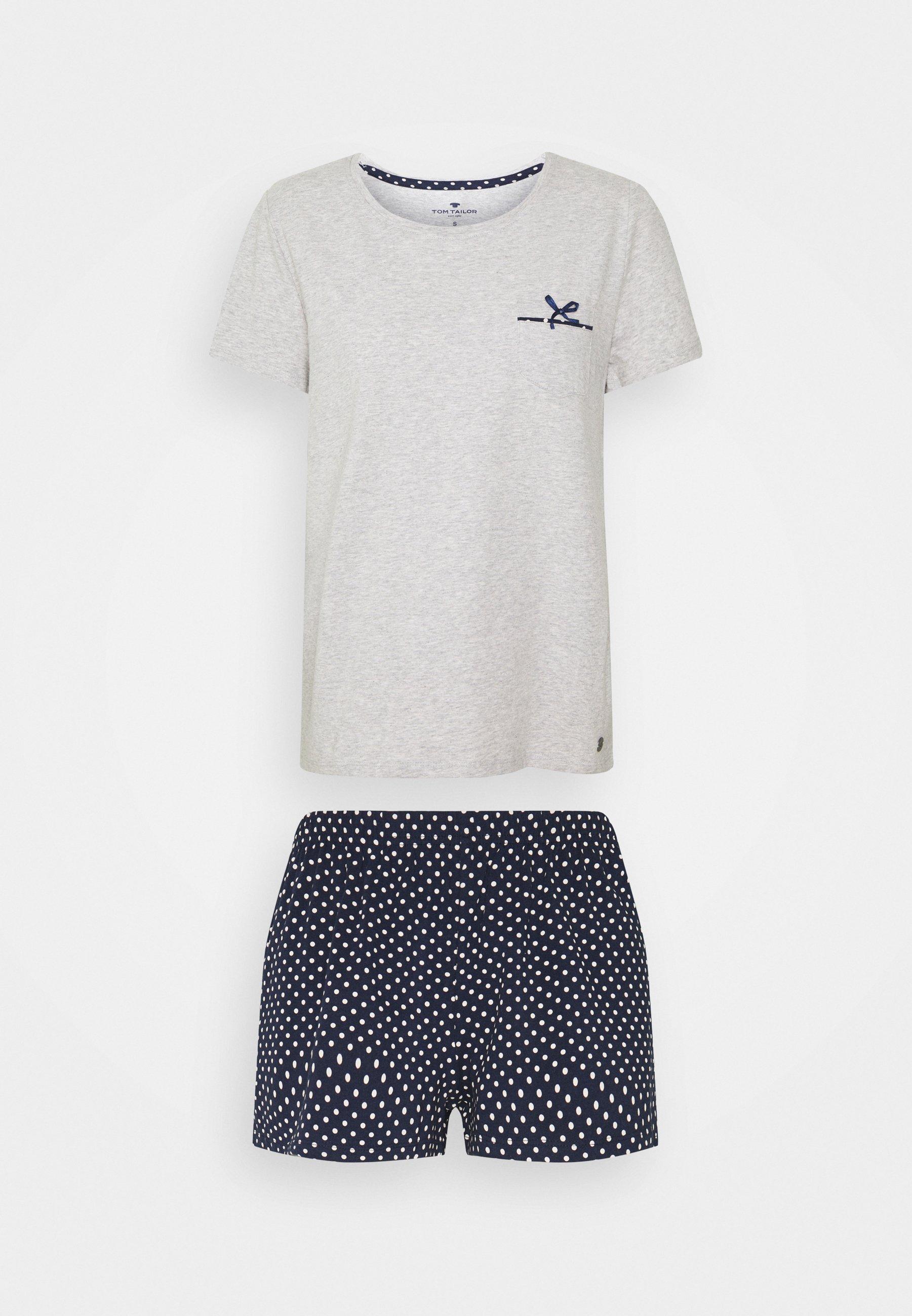 Damen SHORTY O-NECK SET - Pyjama