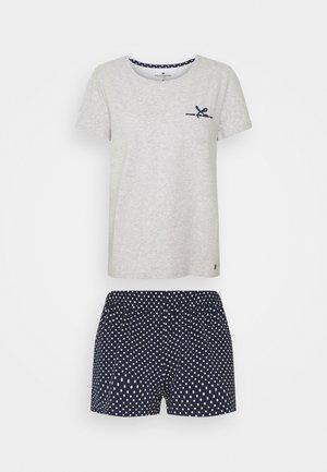 SHORTY O-NECK SET - Pyjamas - blue medium