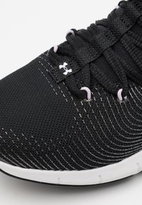 Under Armour - HOVR RISE 2 LUX - Sports shoes - black/white - 5