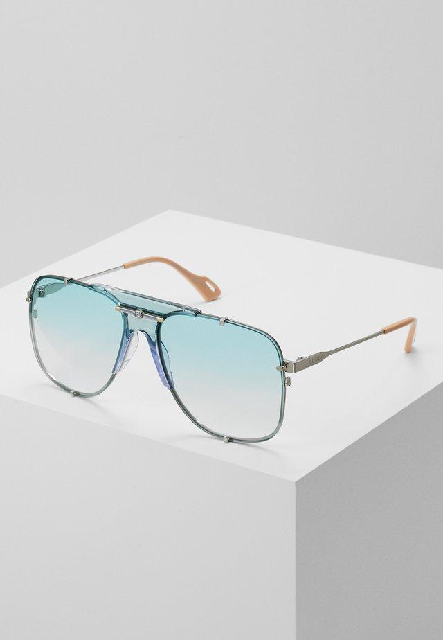 Okulary przeciwsłoneczne - silver-coloured/light blue