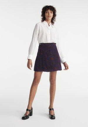 A-line skirt - parme