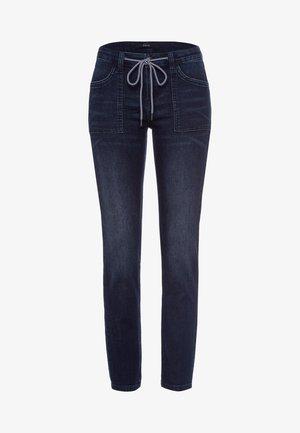 Slim fit jeans - deep blue soft wash