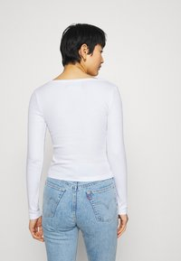 Zign - Long sleeved top - white - 2
