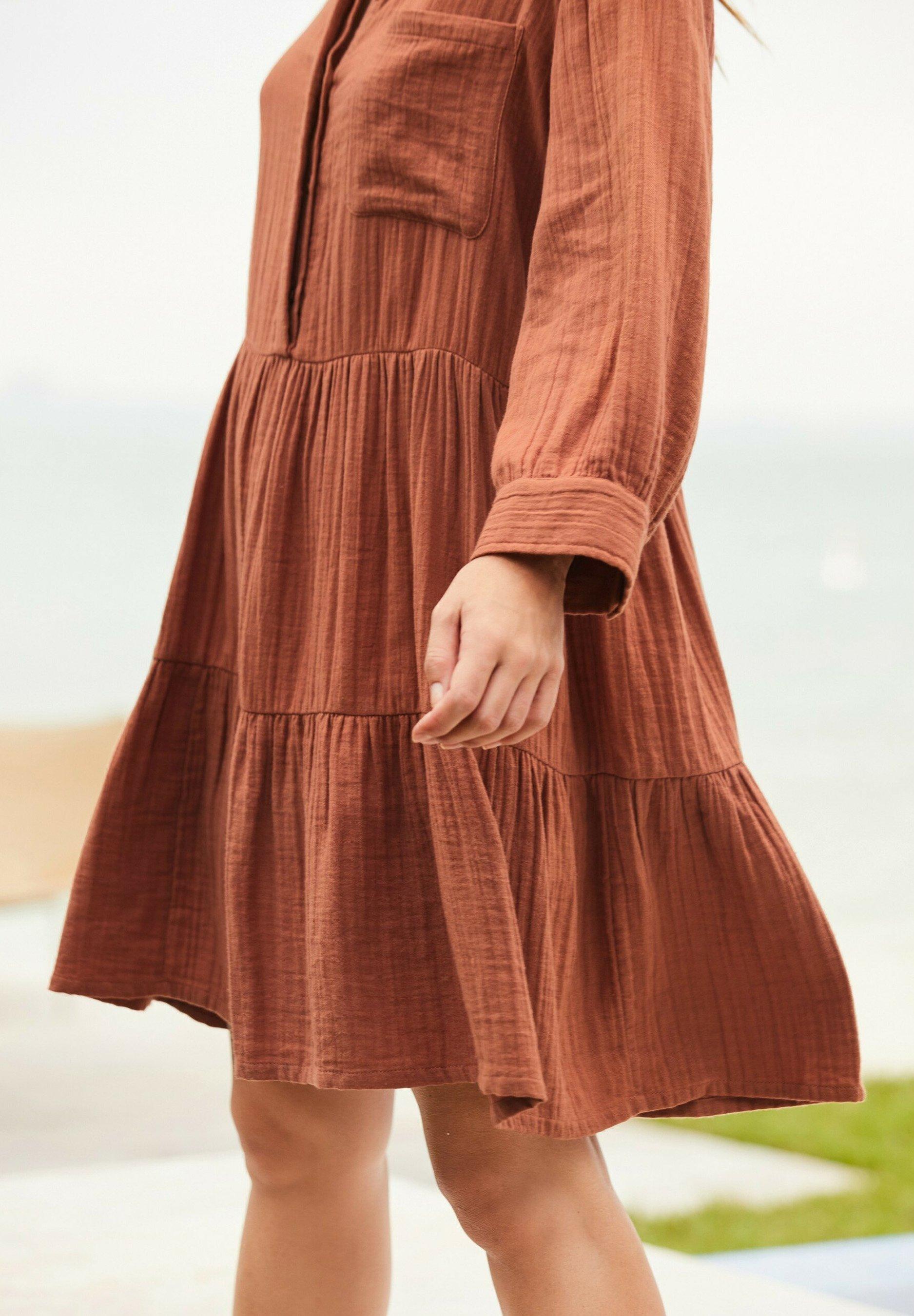 Mujer TEXTURED - Vestido camisero