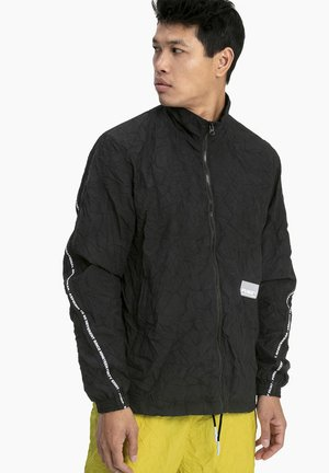 PUMA AVENIR WOVEN MEN'S TRACK TOP MALE - Training jacket - black