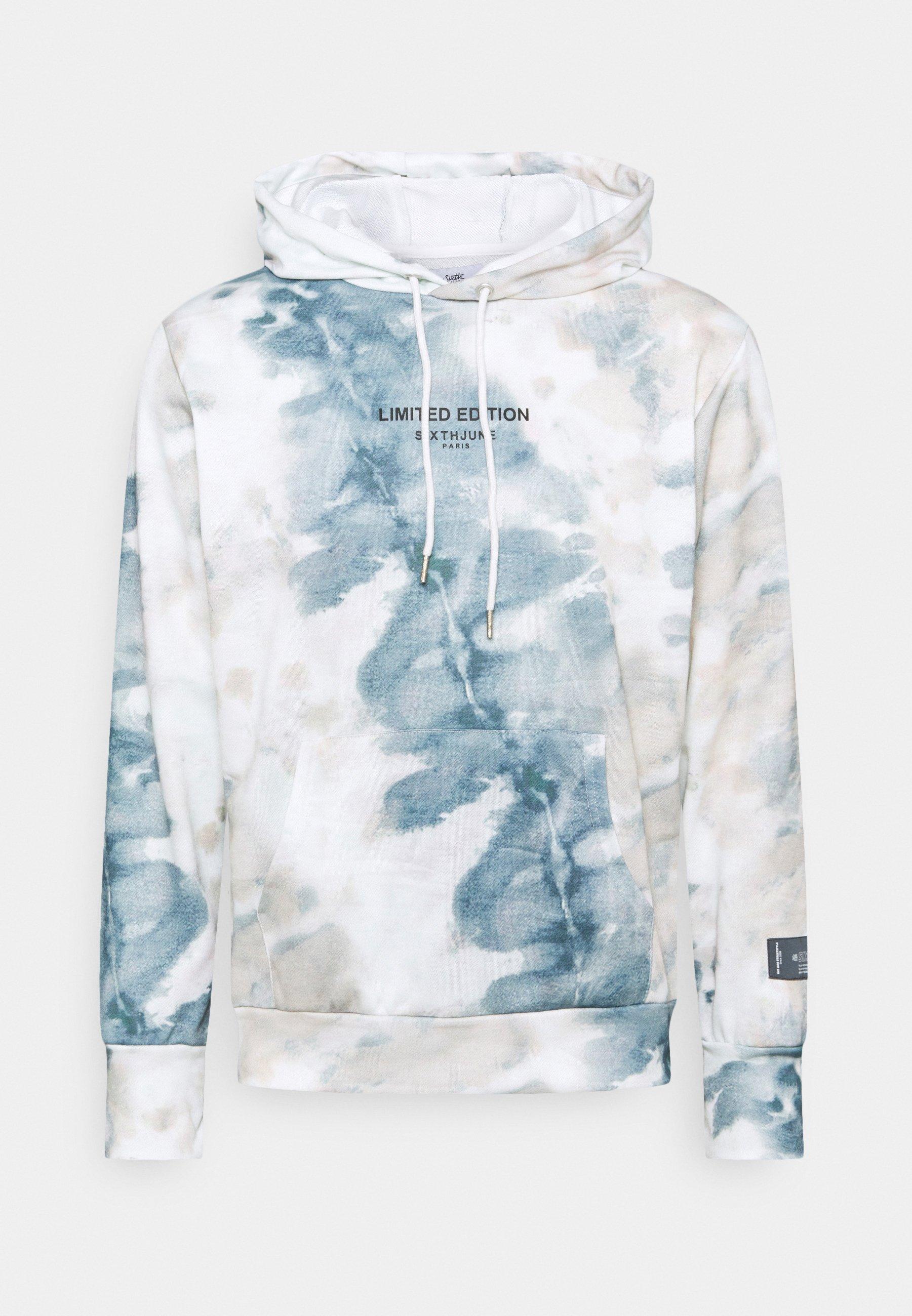 Homme TIE DYE HOODIE - Sweatshirt