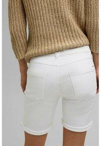Esprit - Denim shorts - white - 4