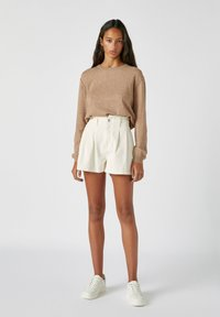 PULL&BEAR - Jumper - mottled brown - 1