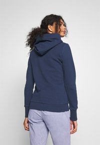 Superdry - TRACK FIELD ZIPHOOD - Hettejakke - navy - 2