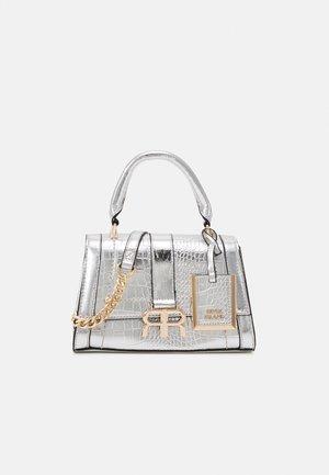 Handbag - silver-coloured