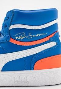 Puma - RALPH SAMPSON - Sneakers hoog - palace blue/lava blast/white - 5