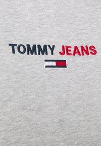 Tommy Jeans - LINEAR LOGO HOODIE UNISEX - Hoodie - grey - 4