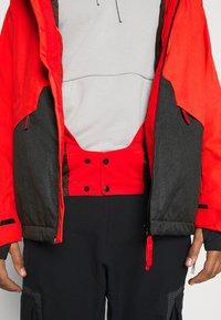 O'Neill - QUARTZITE  - Snowboard jacket - fiery red - 4