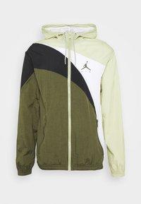 JUMPMAN  - Sportovní bunda - celadon/cargo khaki/white/black