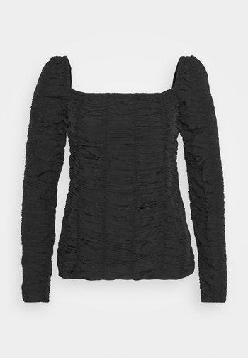MATELEA - Blouse - black