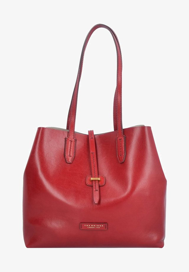 DALSTON SHOPPER 1307 - Shopping Bag - red currant