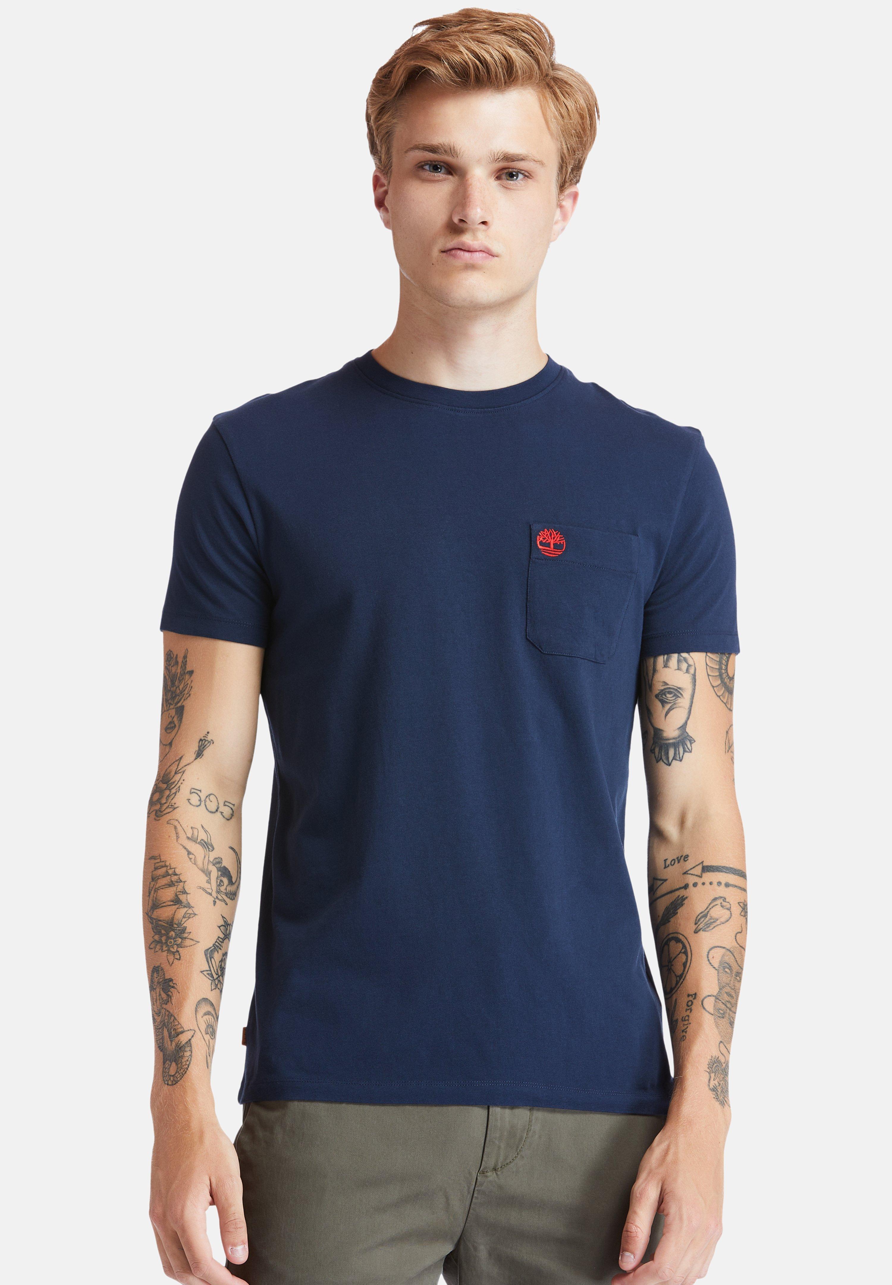Homme SS DUNSTAN RIVER POCKET TEE - T-shirt basique