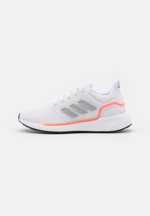 EQ19 RUN - Neutrala löparskor - footwear white/halo silver/solar red