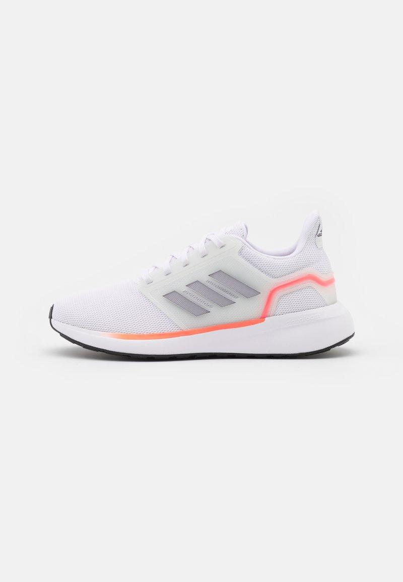 adidas Performance - EQ19 RUN - Neutrala löparskor - footwear white/halo silver/solar red