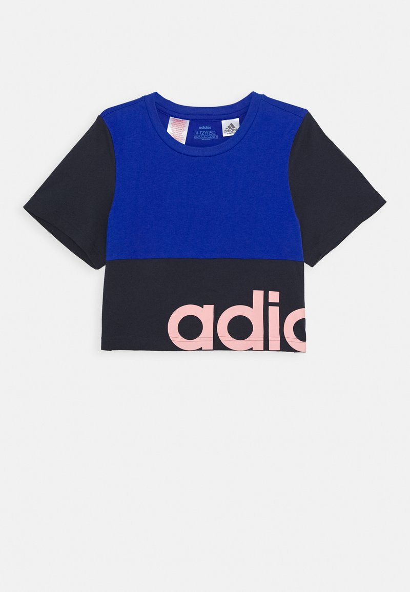 adidas Performance - YG LIN CB T - Print T-shirt - royal blue