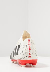 adidas Performance - NEMEZIZ 18.2 FG - Moulded stud football boots - offwhite/core black/active red - 3