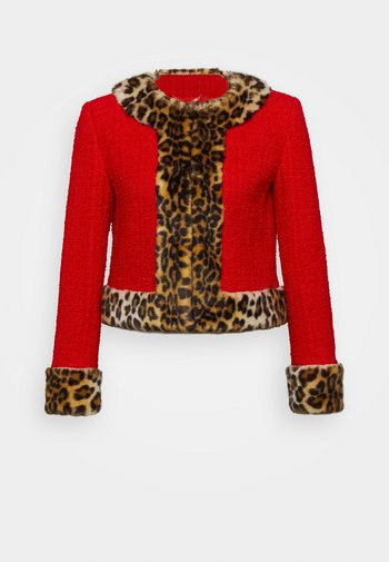 JACKET - Lehká bunda - red