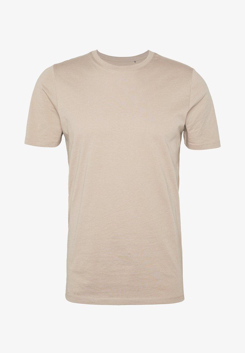 Jack & Jones JJEORGANIC - T-Shirt basic - chocolate fondant/braun KZaAlh