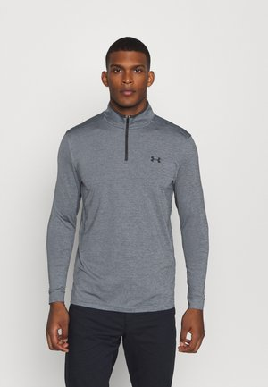 PLAYOFF 1/4 ZIP - Sports shirt - pitch gray