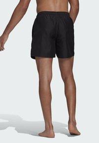 adidas Performance - SOLID CLASSICS SL PRIMEGREEN SWIM SHORTS - Swimming shorts - black - 1