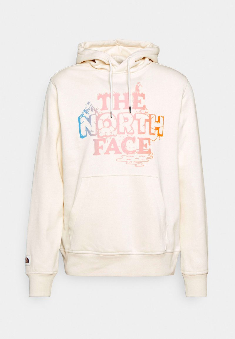 The North Face - HIMALAYAN BOTTLE SOURCE HOODIE - Luvtröja - vintage white