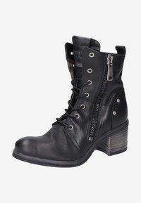Replay - Cowboy/biker ankle boot - black - 5