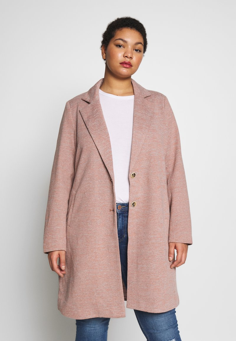 ONLY Carmakoma - CARCARRIE COAT - Manteau court - mocha mousse