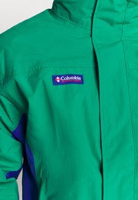 Columbia - BUGABOO 1986 INTERCHANGE 2 IN 1 JACKET - Outdoorjas - emerald green/lapis/bright geranium - 5