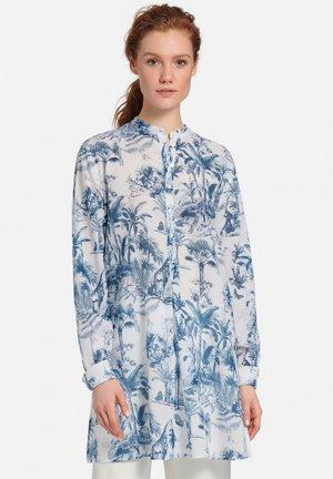 Long sleeved top - marine/weiß