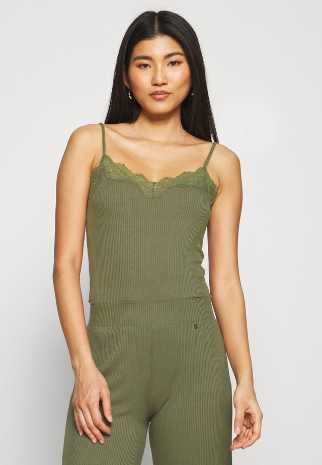 CLIMATE CONTROL CAMISOLE - Pyžamový top - sage green