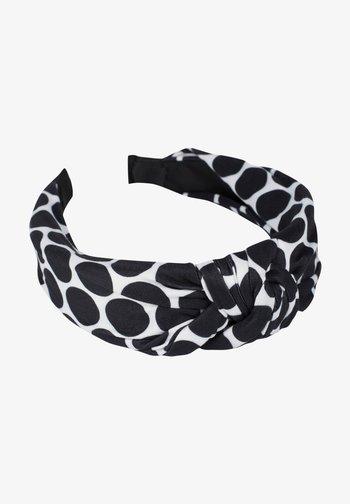 Hair styling accessory - schwarz-weiß
