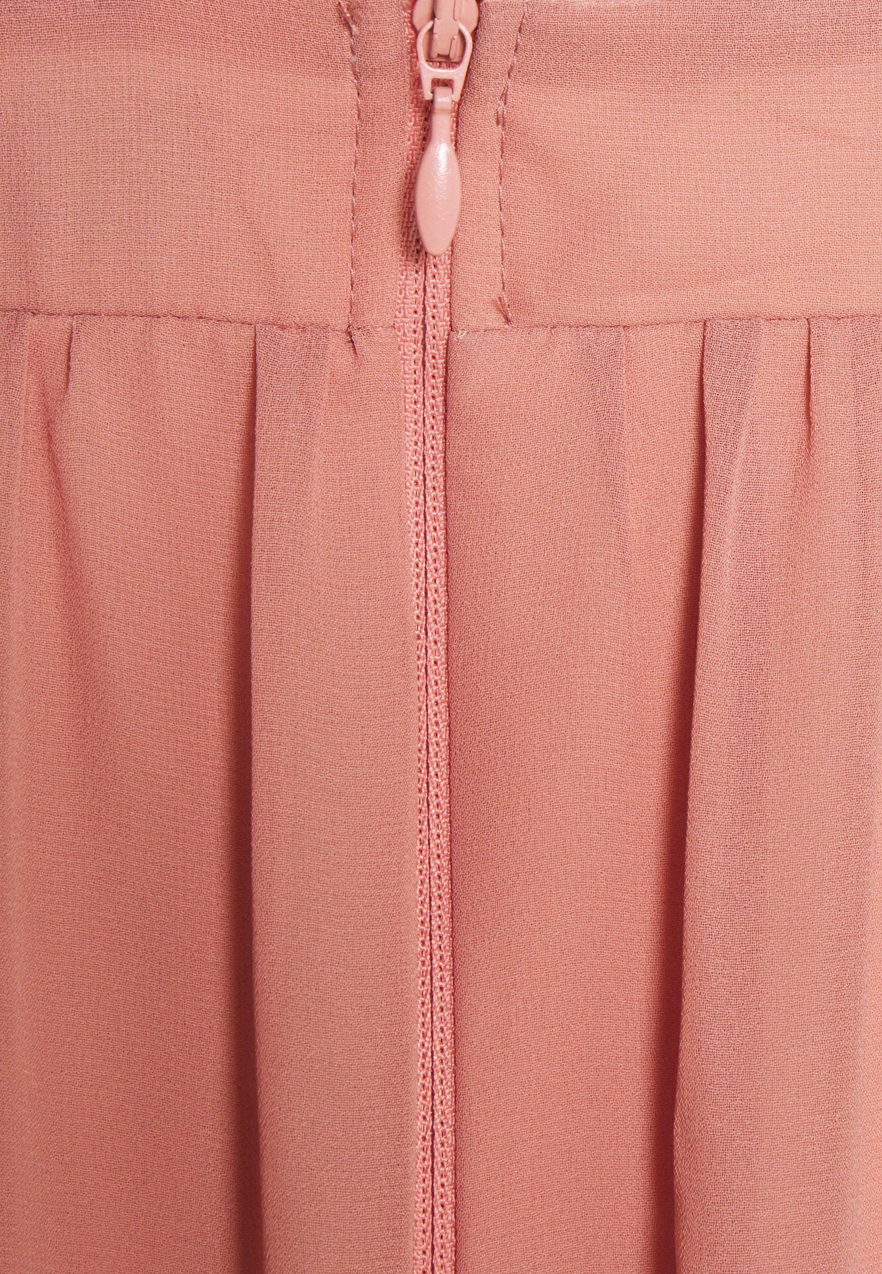 Little Mistress Petite Ballkleid apricot/pink