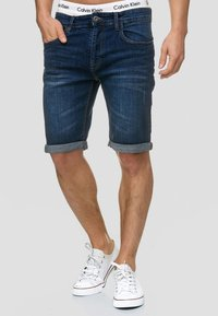 INDICODE JEANS - CUBA CADEN - Denim shorts - blau - 0